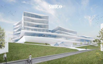 Erstellung der Baugrube für Neubau Medienzentrum Baden-Baden