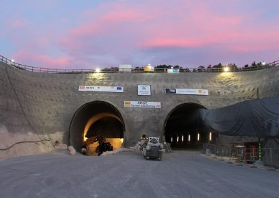Tunnel Albabstieg