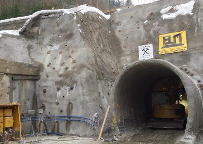 Fluchtstollen Wendelbergtunnel