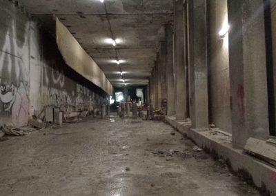 Tunnel Wolframstraße